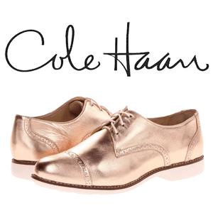 Cole Haan, colectia Oxfords pantofi dama din piele