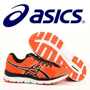 Pantofi sport de alergare portocalii ASICS de dama si barbati, baieti si fete