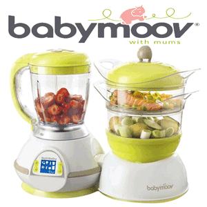BabyMoov Nutribaby robot multifunctional 5 in 1 pentru bebelusi