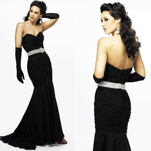 O colectie extraordinara de rochii cu croiala sirena