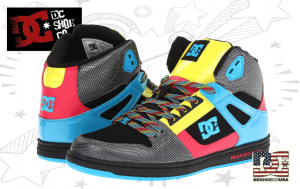 Adidasi dama si adolescente DC Skate Shoes