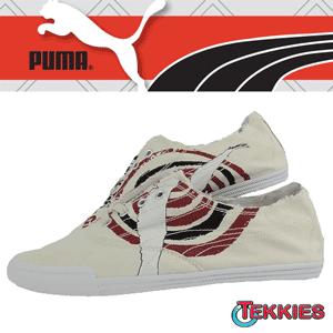 Tenisi din panza barbatesti Puma Tekkies Graphic