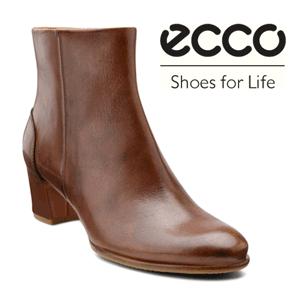 Botine dama ECCO Pailin confectionate din piele naturala maro. Aceste botine se potrivesc perfect la tinutele business.
