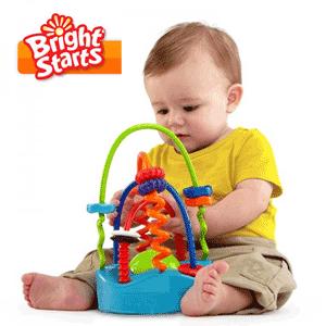 Bright Starts - Jucarie bebelusi Spirala Oball Sliding Spirals Chaser