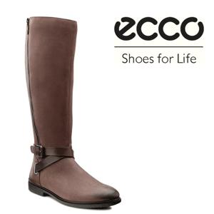 Cizme elegante office ECCO Shoes toamna iarna confectionate din piele fina