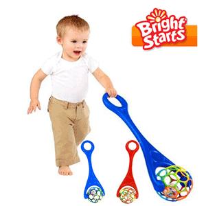Jucarii bebelusi Bright Starts - Rhino - Oball Roller