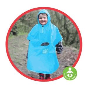 Koo-Di - Poncho pentru ploaie copii 3-6 ani