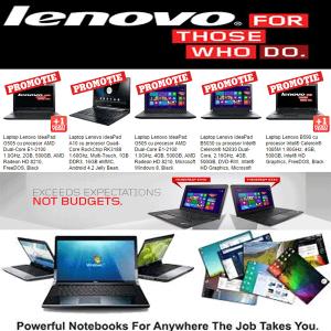 vezi Oferta Campaniei de Reduceri de Pret la Laptopurile Lenovo