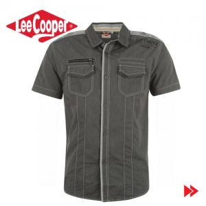 Lee Cooper Short Sleeve Stripe camasa pentru barbati