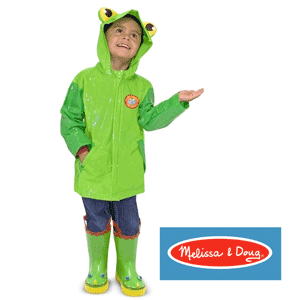 Melissa&Doug - Pelerina ploaie Soggy Froggy pentru copii