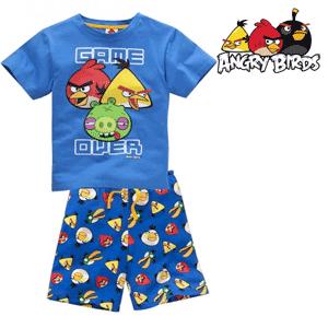 Pijama baieti Angry Birds - maneca scurta