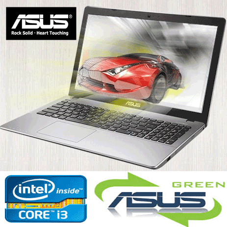 Oferta eMAG Black Friday 2014 Laptopul Asus X551CA cu procesor Intel Core i3 3217U