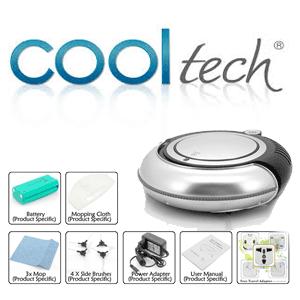 Aspiratorul robot Cool Tech cu tehnologie wireless