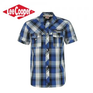 Lee Cooper Fashion Check camasa pentru barbati