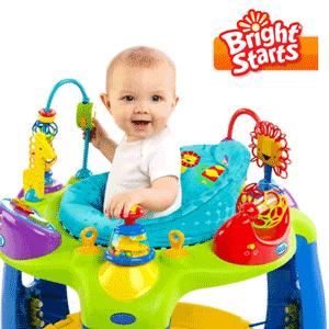 Jucariile interesante Oball pentru bebelusi de la Bright Starts