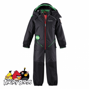 Salopeta Combinezon de ski si zapada baieti 2-5 ani Angry Birds