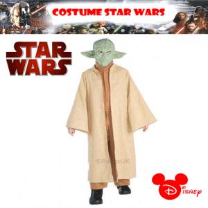 Costum baieti Star Wars Master Jedi Yoda