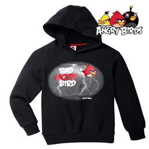Hanorac cu gluga Angry Birds pentru copii