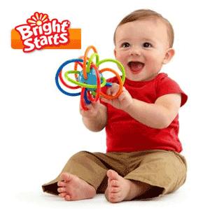 Delicata si flexibila FlexiLoops ofera cea mai grozava experienta pentru gingiile micutilor! Caracteristici Oball Jucarie FlexiLoops: Culorile vii si texturile diferite contribuie la stimularea vizuala si tactila. Inelele flexibile sunt foarte usor de prins de catre bebelus, gratie buclelor de diferite marimi. Textura inelelor este foarte delicata ceea ce ii va conferi confort bebelusului. Jucaria este conforma cu standardele de siguranta ASTM F-963.