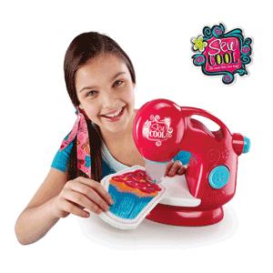 Masina de cusut fara ata Sew Cool jucarii pentru fetite la Noriel