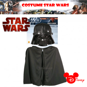 Masca si pelerina Darth Vader pentru copii
