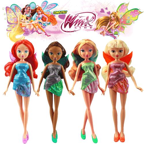 Zanele Papusi Winx Bloom, Layla, Flora, Musa, Stella si Tecna
