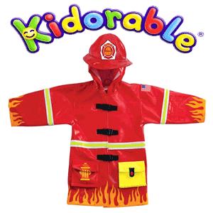 Pelerina de ploaie baieti Fireman Kidorable