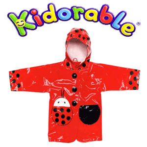 Pelerina de ploaie Ladybug Kidorable pentru fetite
