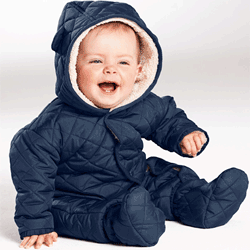 Salopeta de toamna iarna pentru bebelusi