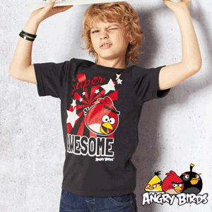 Tricou Angry Birds pentru baieti 12 ani