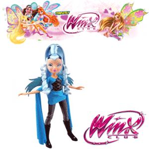 Vrajitoare Papusa Winx Trix - Icy