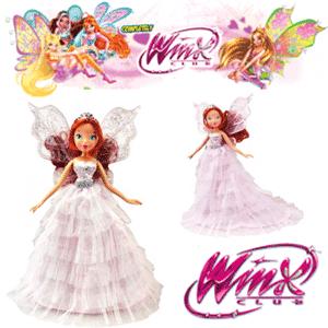 Zana Papusa Winx Bloom Pink Princess jucarii