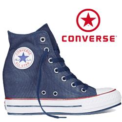 Platforme Converse Chuck Taylor All Star Navy 545039