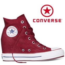 Bascheti Platforme Converse Chuck Taylor All Star Oxiheart 545040