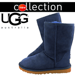 Cizme albastre UGG Australia Bailey Button