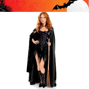 Costum Halloween de vrajitoare