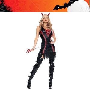 Costum Halloween dracusor pentru femei