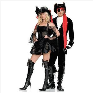 Costumatie de Halloween: Costum barbatesc complet de pirat