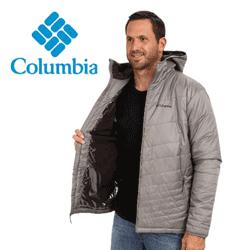 Geaca barbati cu gluga Columbia Mighty Light™ Hooded Jacket - Tall