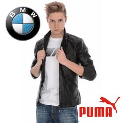 Geci din piele moto sport pentru barbati Puma BMW, Ducati si Ferrari