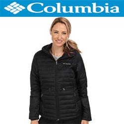Geci de iarna Columbia Powder Pillow dama - geaca de culoare neagra pentru femei