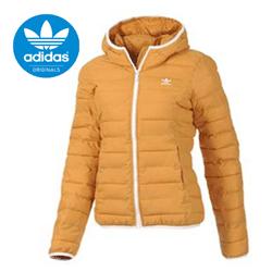 Geaca Adidas Originals Padded M30408 portocalie pentru femei