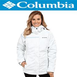 Geci de iarna Columbia Outer West Interchange calduroasa de culoare alba