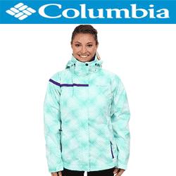 Geci de iarna Columbia Outer West Interchange Jacket de culoare verde pentru femei