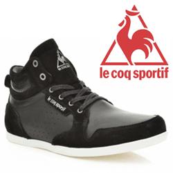 Ghete Le Coq Sportif din piele Bizot Chukka Lea