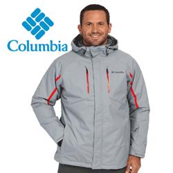 Jachete barbatesti drumetii montane pentru barbati Columbia Cubist IV Jacket - Extended culoare gri