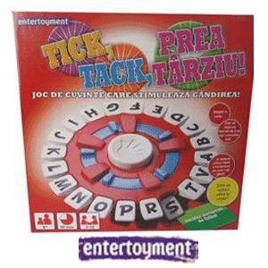 Jocul Tick Tack Prea Tarziu ofera un timp petrecut de minune atat catre parinti cat si pentru copii