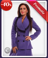 Palton LaDonna, ideal sa iti tina de cald si de asemenea sa iti asigure un look chic.