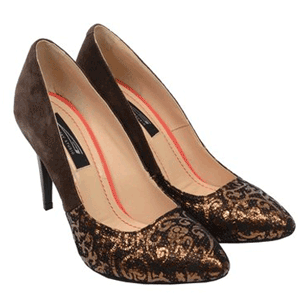 Pantofi Stiletto din piele naturala fabricati in Romania