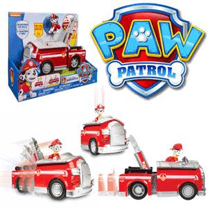 Paw Patrol - Figurina cu autovehicul transformabil - jucarii